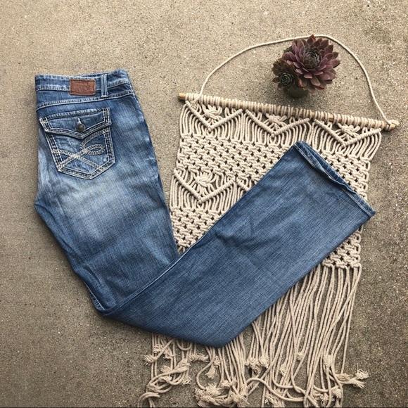 BKE Denim - BKE Stella Bootcut Jeans Buckle Denim Size 31